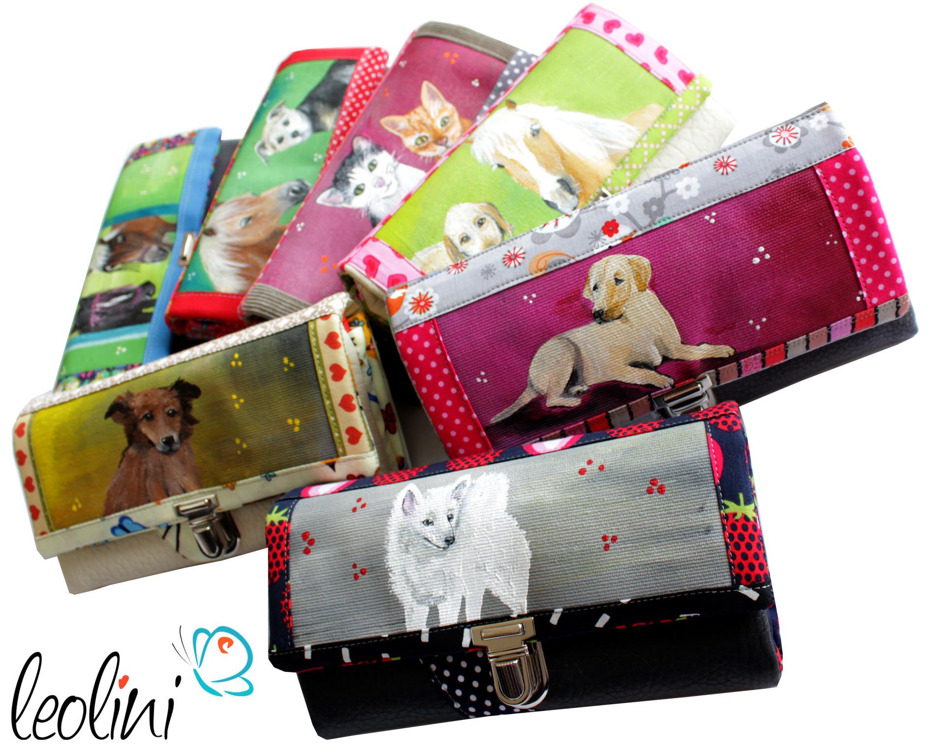 Dein Haustier auf dem Portemonnaie
