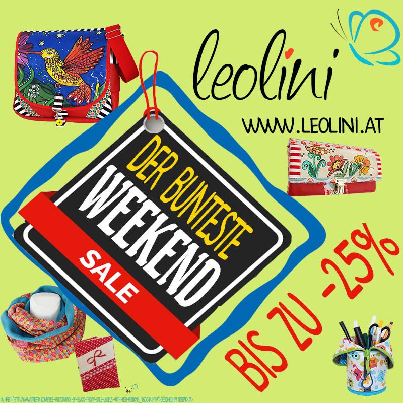 Weekend Sale auf leolini