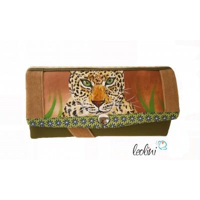 Portemonnaie - Geldbörse Leopard