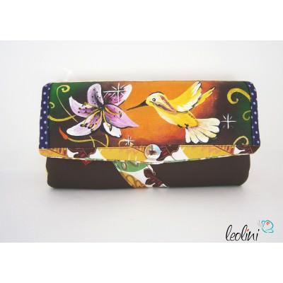 Portemonnaie - Geldbörse Kolibri