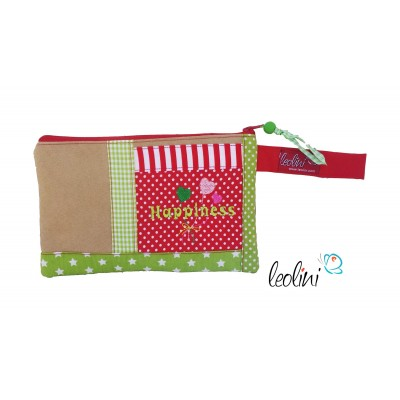 Pencilcase by Leolini with embroidery