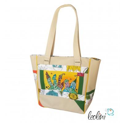 Shoulderbag - handcrafted ARTBAG by Leolini