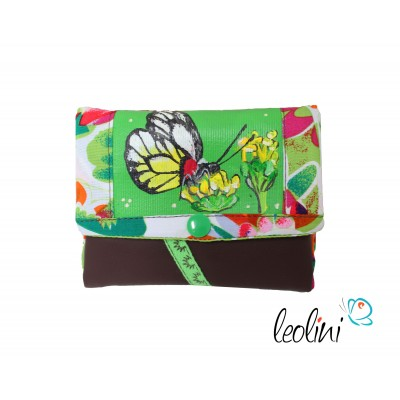Small Wallet, Purse with butterfly