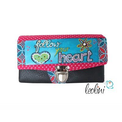Portemonnaie - Geldbörse Follow your heart