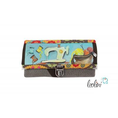 Portemonnaie - Geldbörse DIY Sewing Lady II