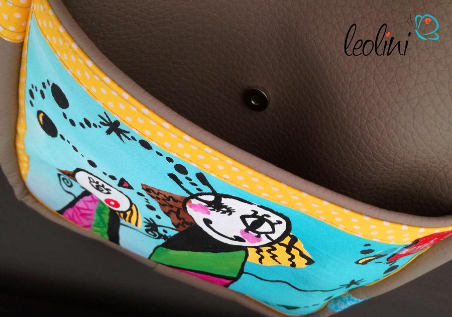 Außentasche Leolini Wunschtasche nach Kinderzeichnung