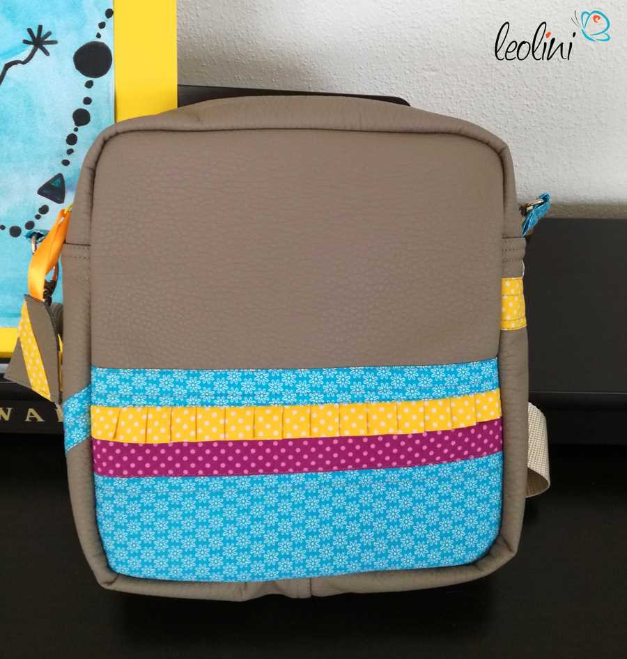 Rückseite der Wunschtasche Leolini