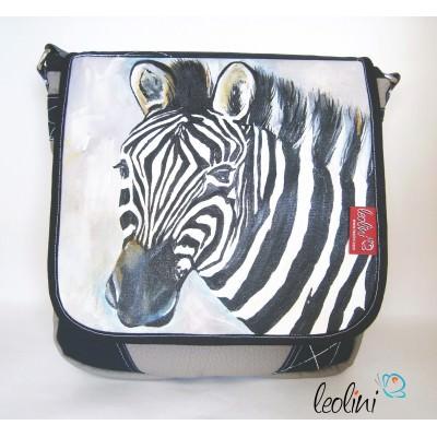 Zebra-Tasche Auftragstasche von Leolini