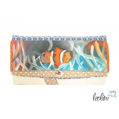 Portemonnaie - Geldbörse Clownfisch