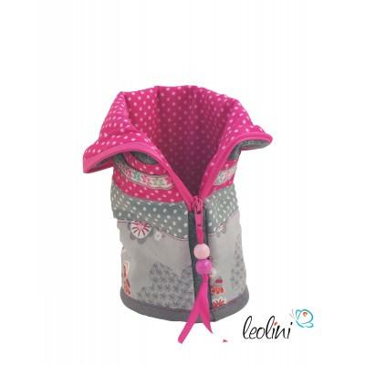 Stiftetasche Schulkram in pink