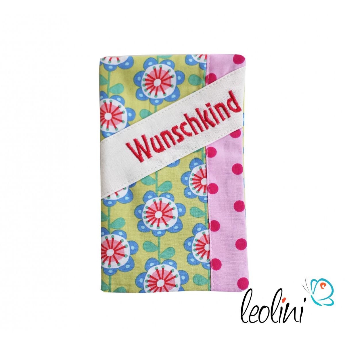 """Mutterkindpasshülle """"Wunschkind"""" rosa für Österreich"""