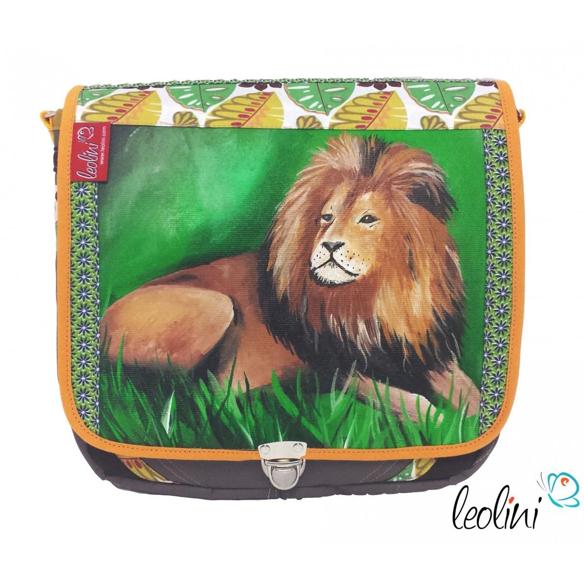 KING LION Tasche Umhängetasche mit Malerei