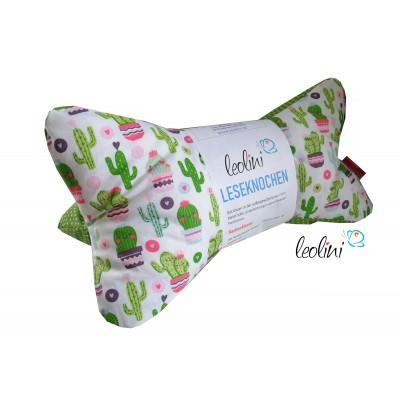 Leseknochen - Lesekissen Cordula Kaktus