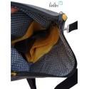 Foldover Tasche Sonnenblume - mit Außenfach