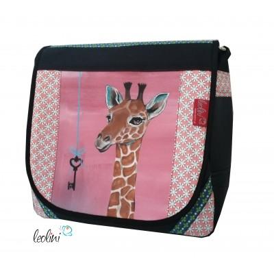 Giraffentasche, handgefertigte Umhängetasche von Leolini