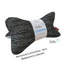 Leseknochen - Lesekissen von Leolini Stripes and Dots mit Namen