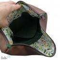 Foldover Tasche Maus mit Pusteblume Stickerei - mit Außenfach