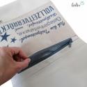 Foldover Tasche Vollzeitverrückte beige - mit Außenfach